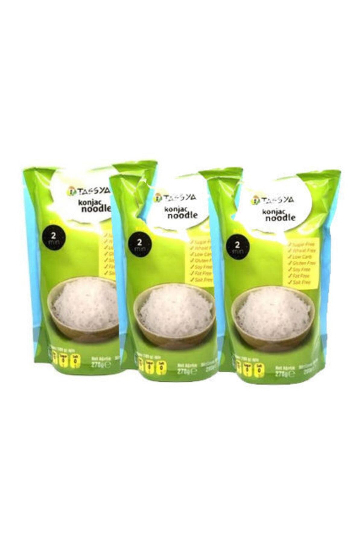 Tassya Noodle 270 Gr Shirataki (konjac) Gluten Free X3 Lü 1