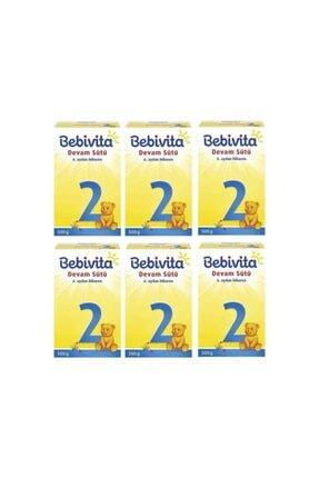 Bebivita Bebek Sütü 500 Gr No:2 6'lı Set