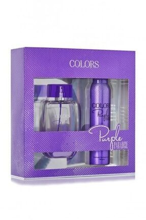 Rebul Colors Purple Bayan Kofre 100 Ml+150 Ml