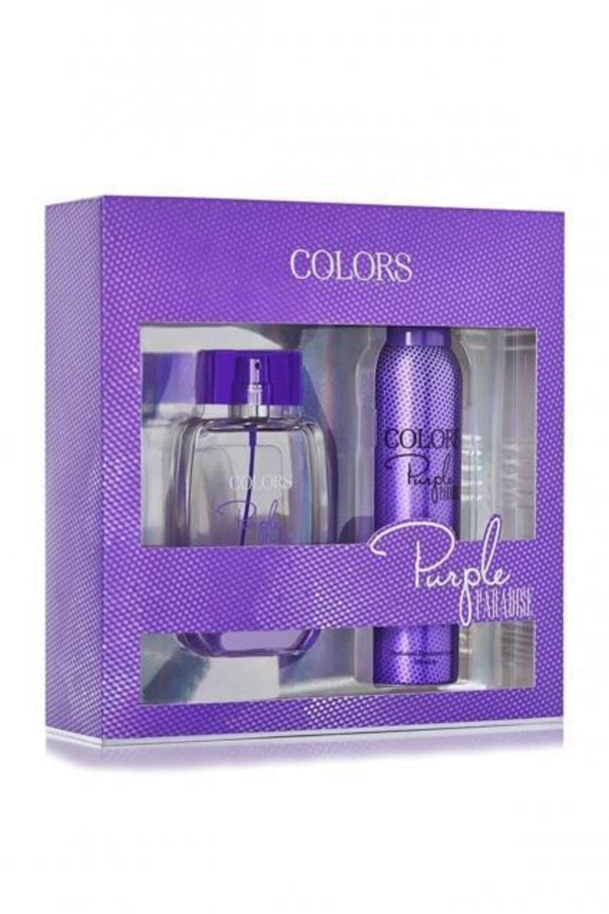 Rebul Colors Purple Bayan Kofre 100 Ml+150 Ml 1