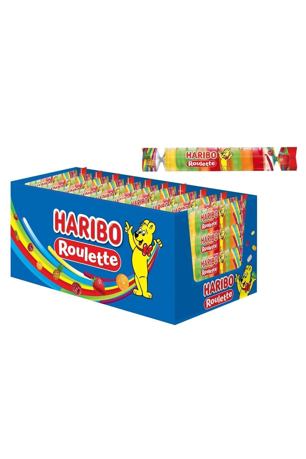 Haribo Roulette 25 Gr * 48 Adet 1