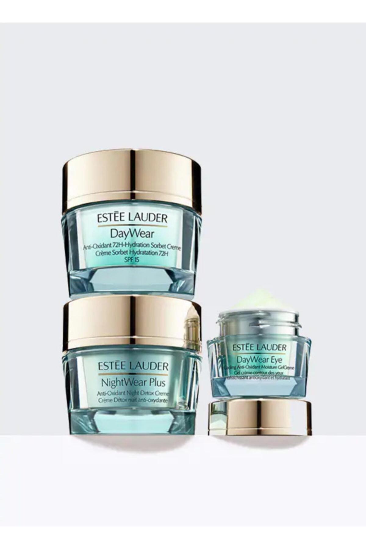 Estee Lauder Nemlendirici Cilt Bakım Seti - Daywear & Nightwear Essentials Nemlendirici Set - 887167482593 1