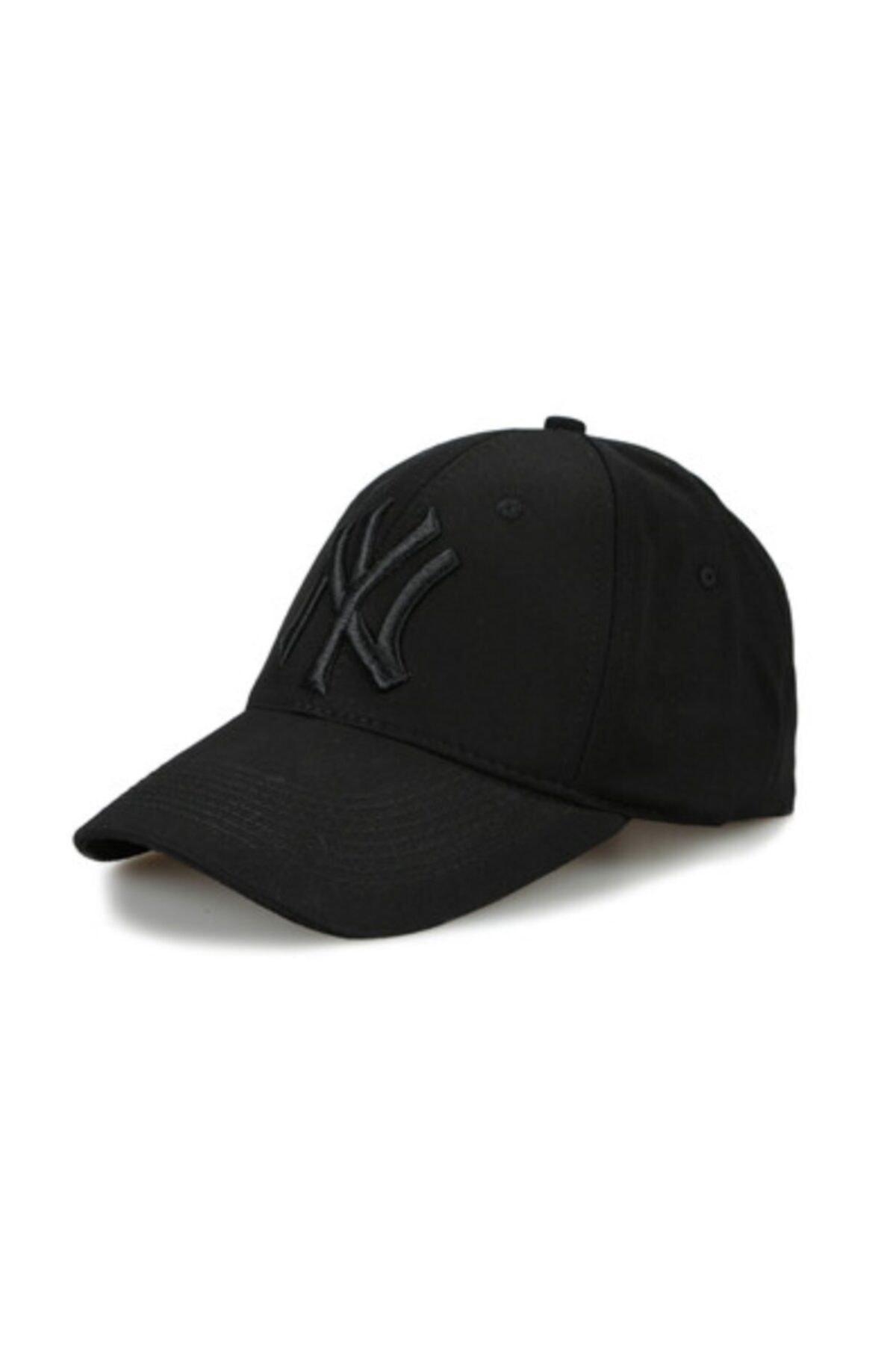 CosmoOutlet Ny New York Yankees Unisex Siyah Şapka 1