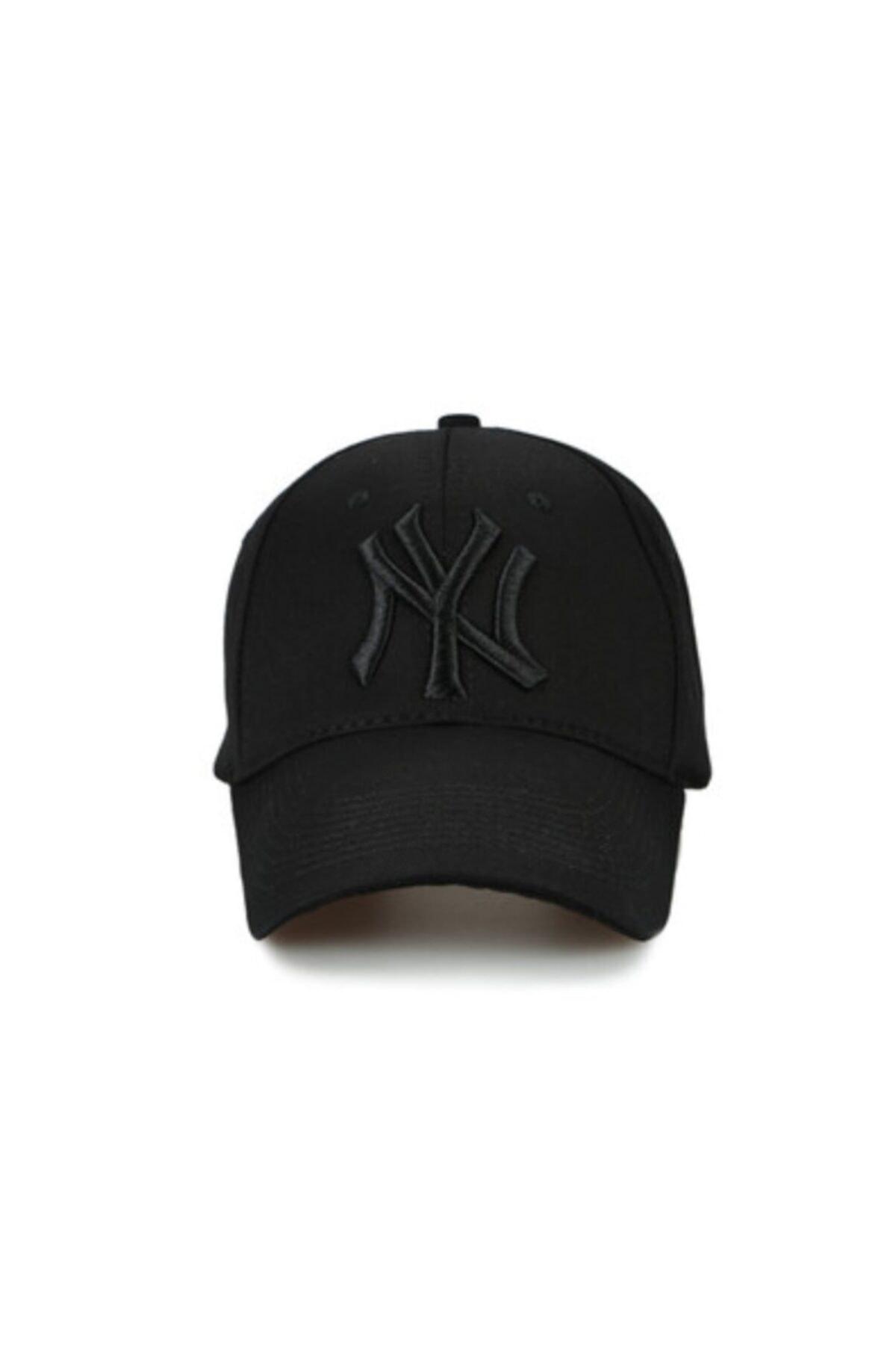 CosmoOutlet Ny New York Yankees Unisex Siyah Şapka 2