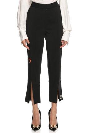 Christopher Kane Kadın Siyah Jean Pantolon