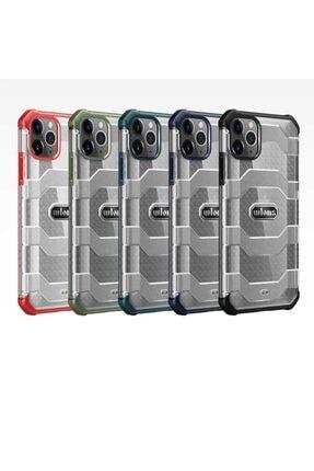 zore Apple Iphone 12 Kılıf Wlons Tam Korumalı Sertifikalı Sert Kapak + Tamperli Cam Ekran Koruyucu
