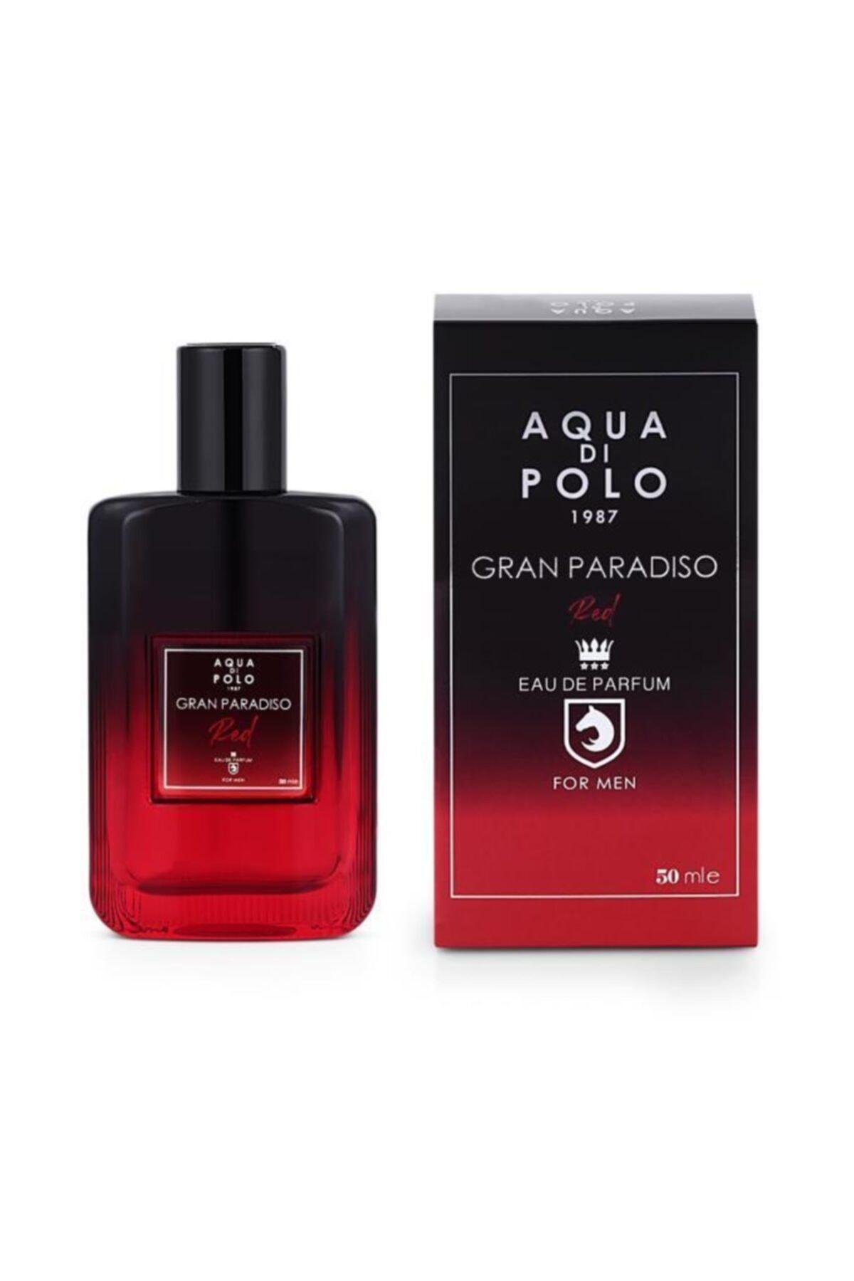Aqua Di Polo 1987 Aynı Butikte 2. Ürün 1 TL Gran Paradiso Red Edp 50 ml Erkek Parfümü 8682367012760 1