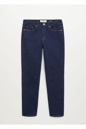 Violeta by MANGO Kadın Mavi Jeans