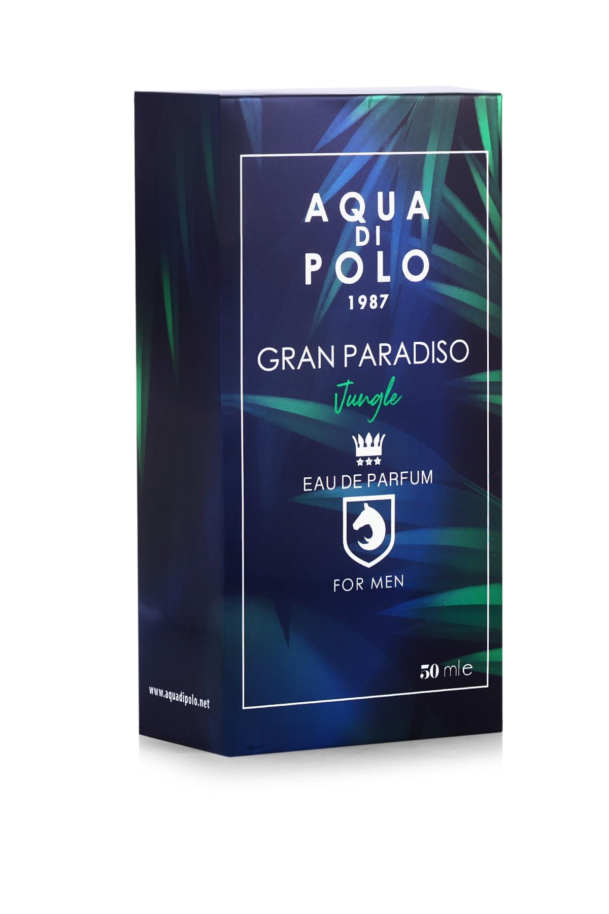 Aqua Di Polo 1987 Gran Paradiso Jungle Edp 50 ml Erkek Parfümü 8682367012784 2