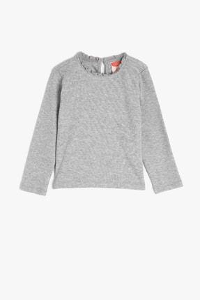 Koton Kids Gri Kız Bebek T-Shirt