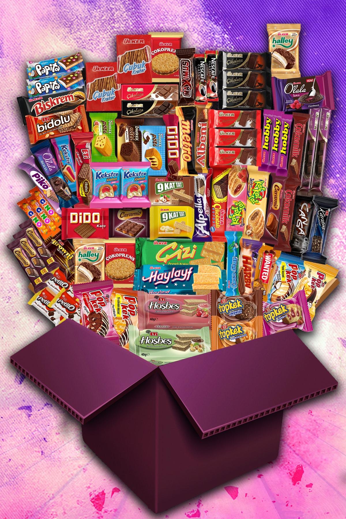 Ülker Karma Jumbo Çikolata Kek Paketi - 76 Parça 1