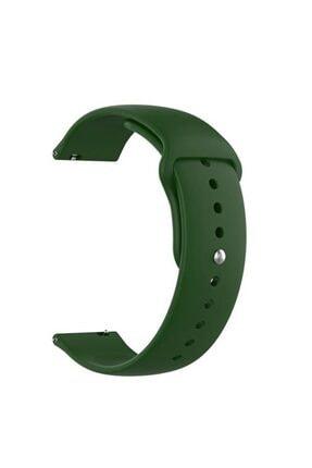 CaseStreet Case Street Corsair Dt 88 Kordon Mat Düz Renkli Silikon Koyu Yeşil