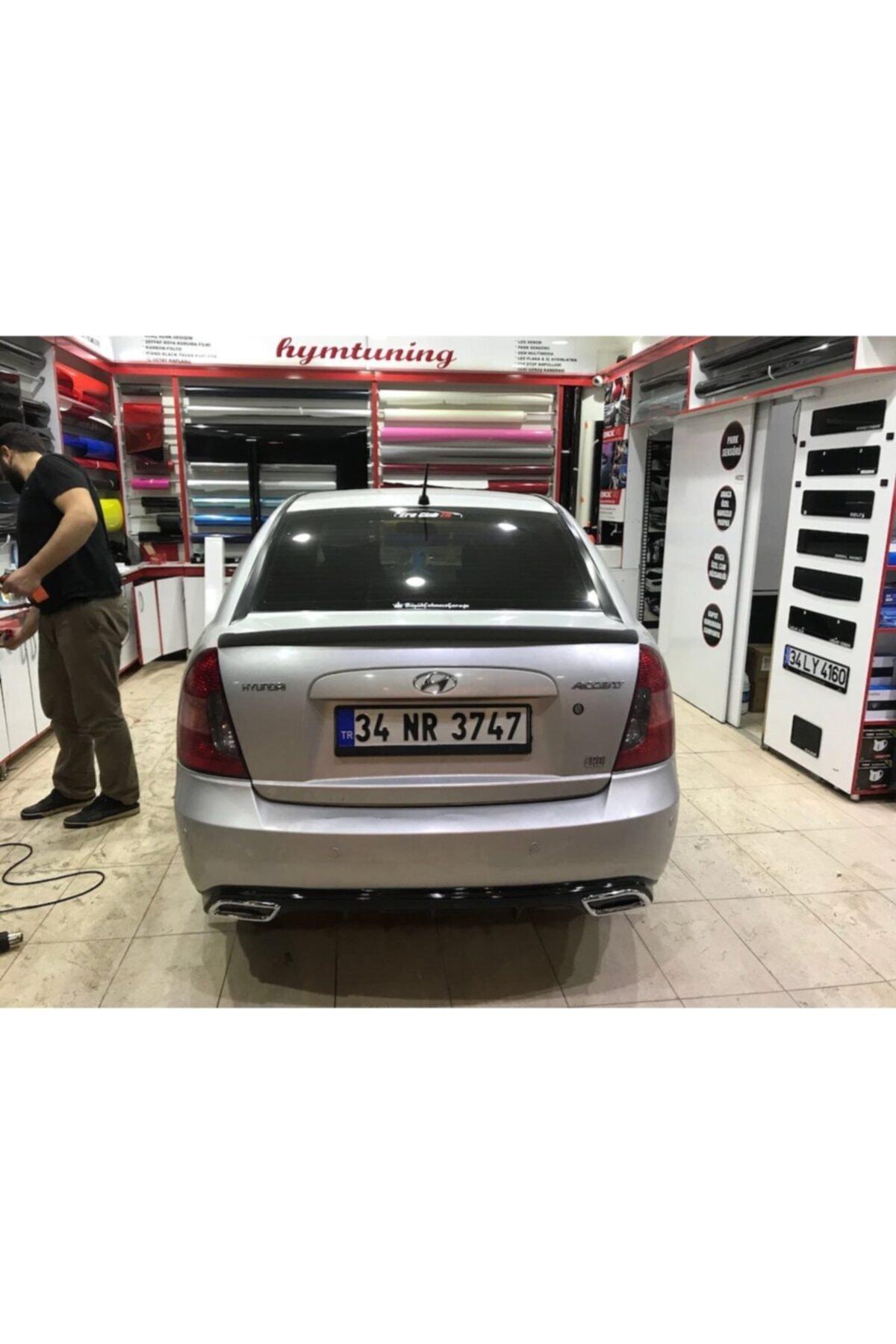 ElitTuning Hyundai Accent Era Arka Tampon Eki Difizör Difüzör 1