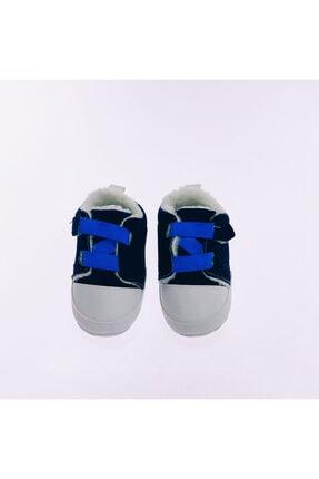 Funny Baby Erkek Bebek Tek Cırtlı Süet İlk Adım Ayakkabı