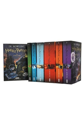 yky Harry Potter Set 7 Kitap Takım