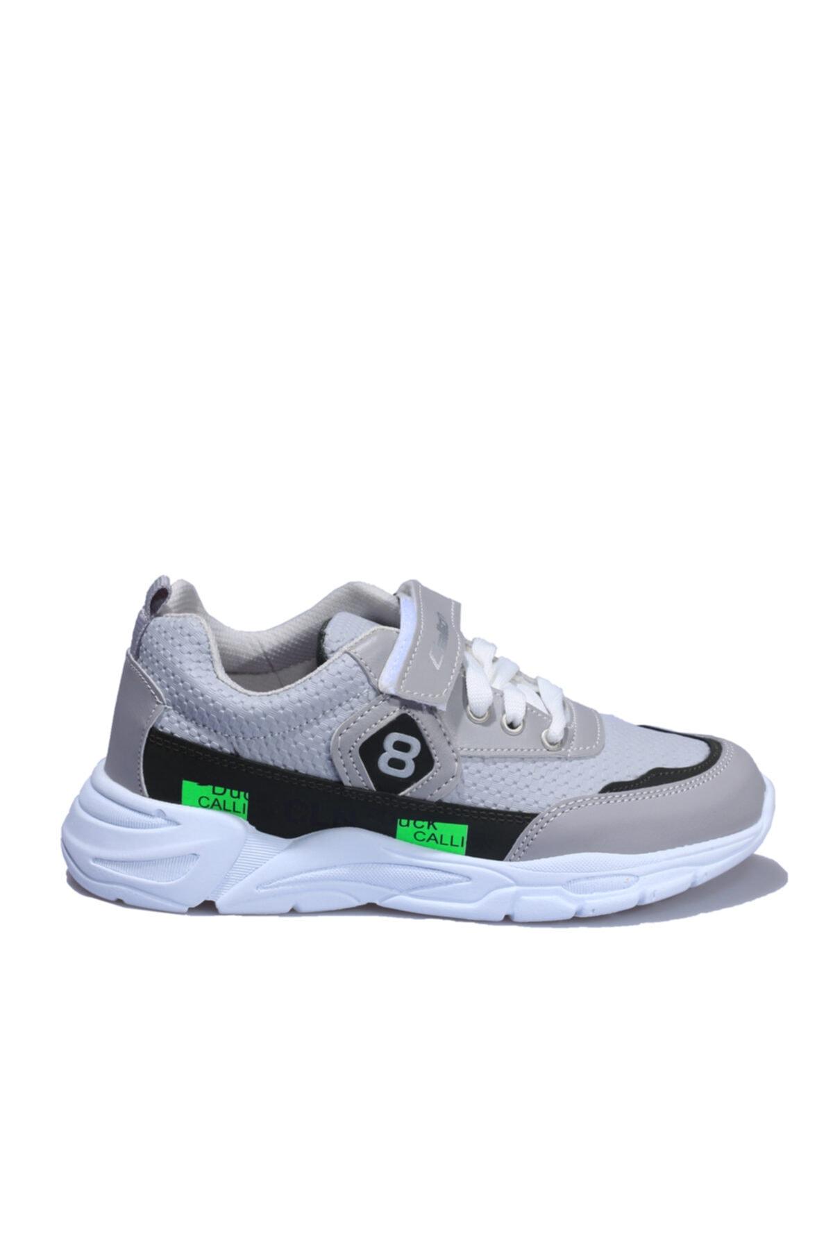 Callion Gri Yeşil Çocuk Spor Ayakkabı 1