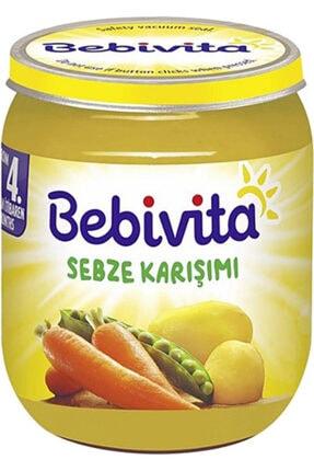 Bebivita Sebze Karışımı 125 gr 10 Adet