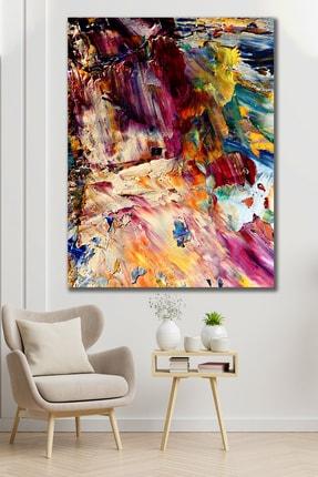 Hediyeler Kapında 100x140 Yağlı Boya Görünümlü Renkler Kanvas Tablo