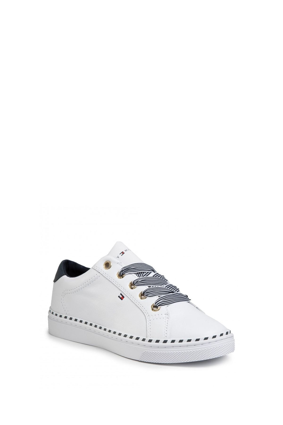 Tommy Hilfiger Kadın Beyaz Sneaker Fw0fw04689 1