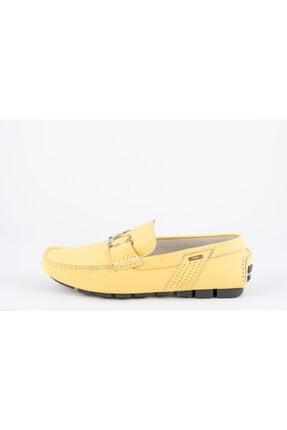 ALBERTO GUARDIANI Erkek Sarı Loafer Ayakkabı
