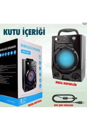 Platoon Kts-895 Bluetooth Müzik Kutusu Büyük Boy Sd Usb Fm Radyo Karaoke