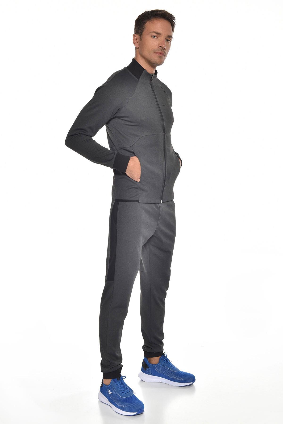 bilcee Siyah Erkek Eşofman Takım GW-9405 2