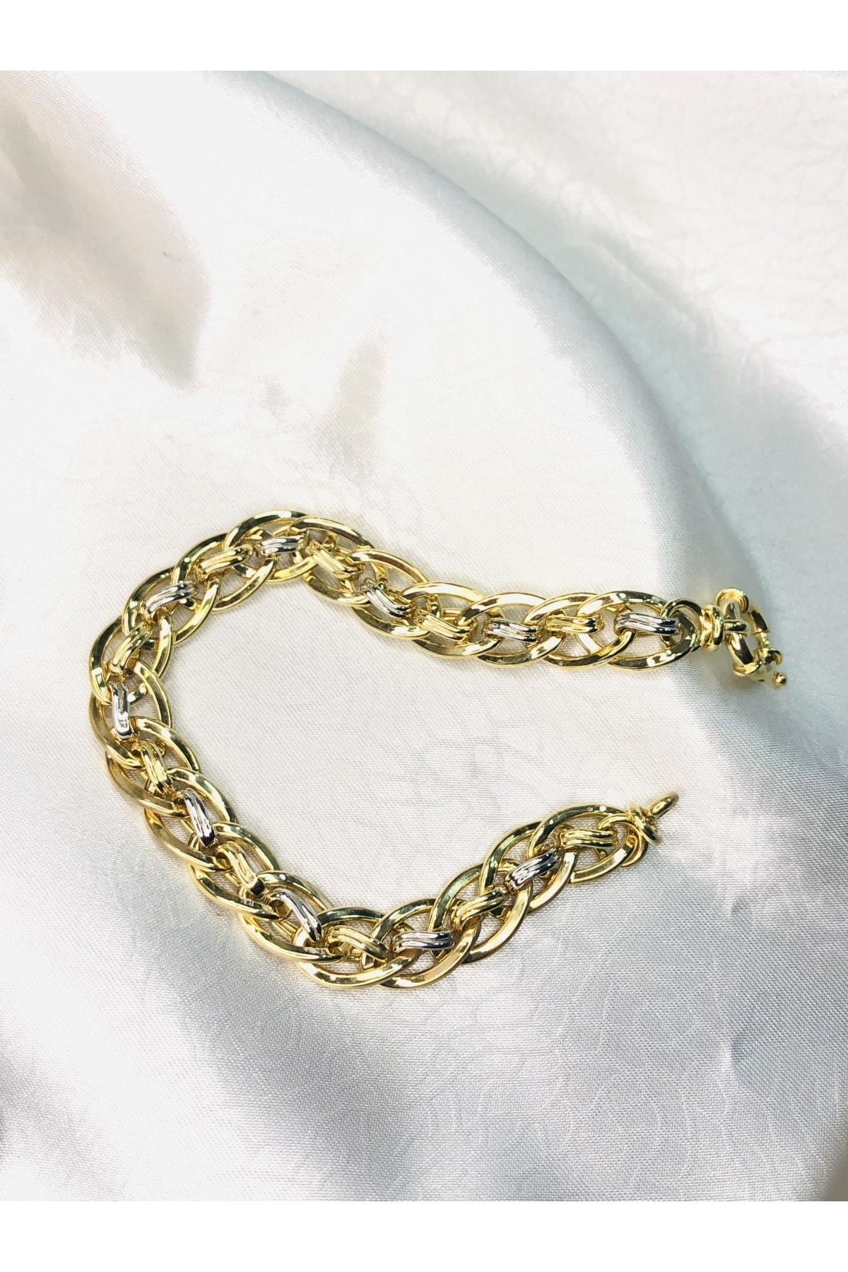 Selen'S Gümüş Gümüş Hallow Bileklik 1