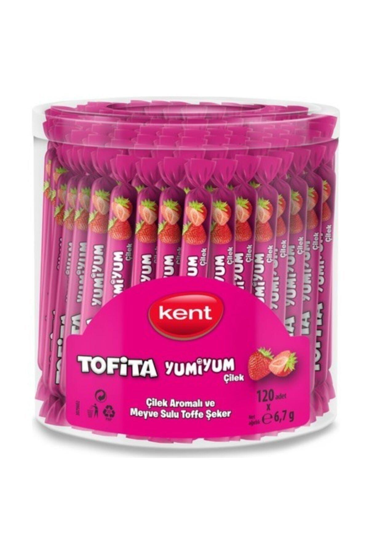 Olips Kent Tofita Yumiyum Çilek 120'li Kutu 1