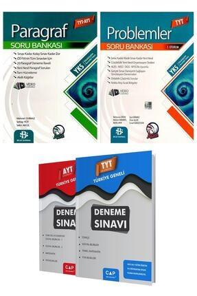 Bilgi Sarmal Yayınları Bilgi Sarmal Tyt - Ayt Paragraf + Tyt Problemler Soru Bankası Set