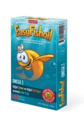 Easy Fishoil Omega 3 Ve D Vitamini Içeren Çocuklara Özel Balık Yağı