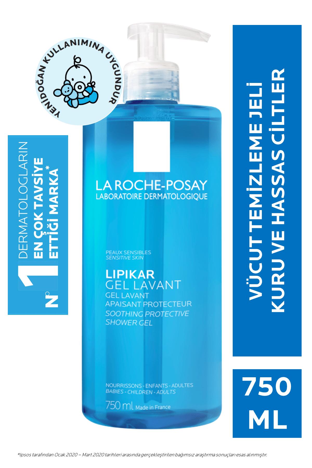 La Roche Posay LipikarGel Lavant Vücut Jeli Koruyucu&Yatıştırıcı Tüm Aile 750 ml 3337872418815