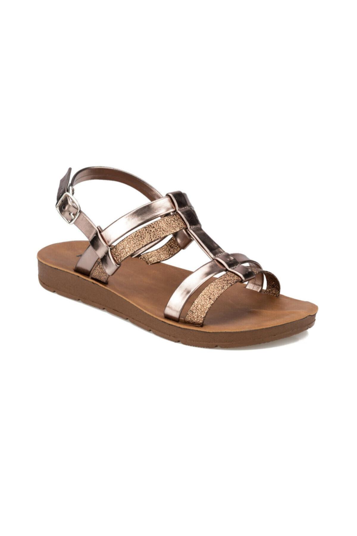 Polaris 91.313612DZ Altın Kadın Sandalet 100375645 1
