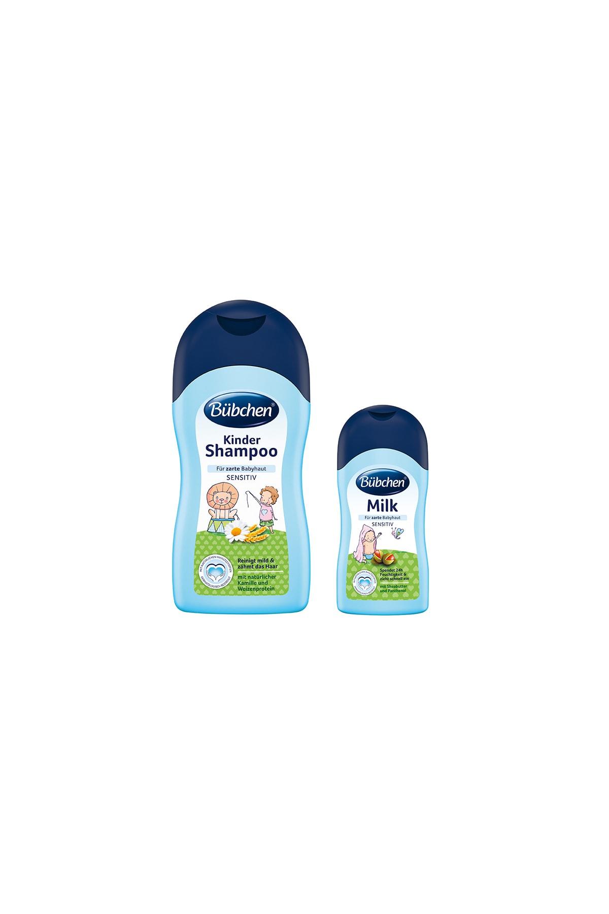 Bübchen Bebek Şampuanı 400 Ml + Nemlendirici Süt 50 Ml 1