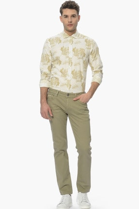 Network Erkek Açık Yeşil Casual Pantolon 1061121