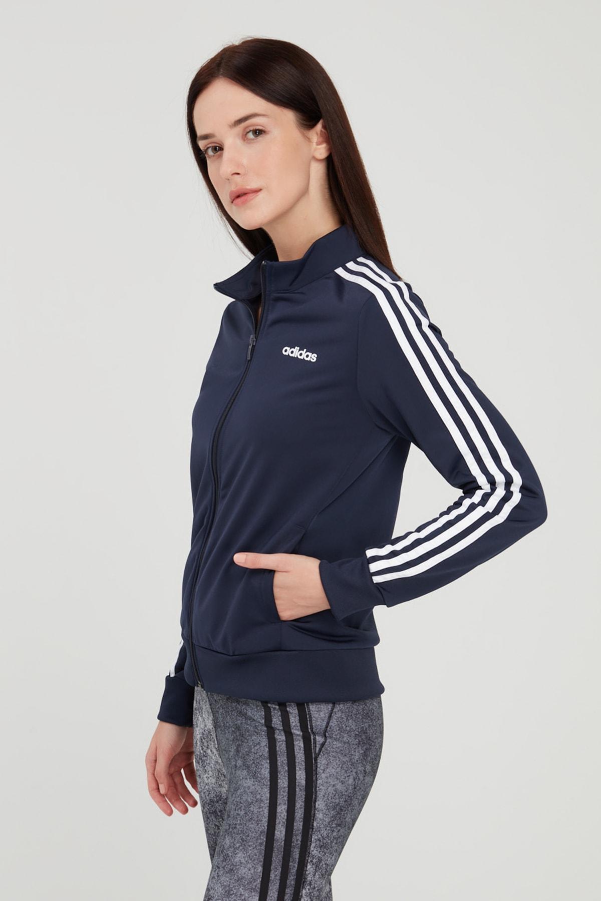 adidas Essentials Tricot Track Jacket Kadın Sweatshirt 1