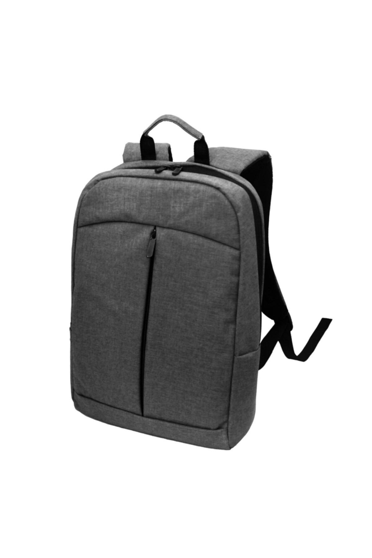 """Beutel 15.6"""" Gri Notebook Bilgisayar Laptop Sırt Çantası 1"""