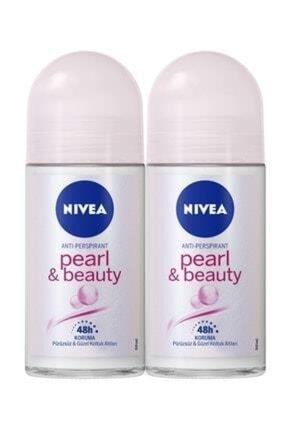 Nivea Int Nıvea Roll-on Bayan 50 Ml Pearl Beauty X2