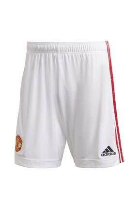 adidas Erkek Beyaz Manchester United 2020-2021 Iç Saha Şort