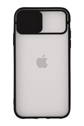 CaseArt Apple Iphone Xs Max Kapak Lensi Açılır Kapanır Kamera Korumalı Silikon Kılıf