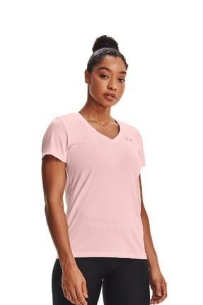 Under Armour Kadın Spor T-Shirt - Tech SSV - Twist - 1258568-659