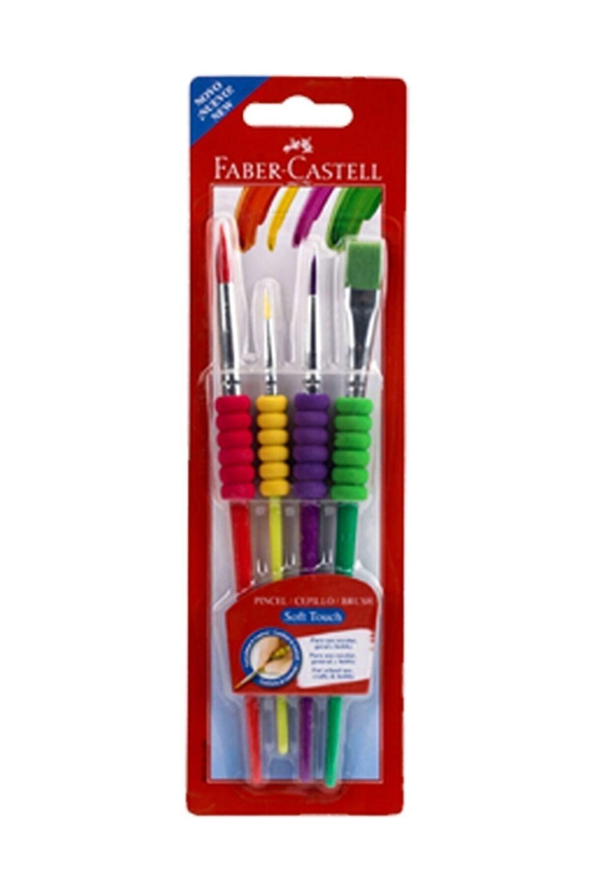 Faber Castell Faber-castell Fırça Seti Soft Touch 4 Lü 5291181620000 1