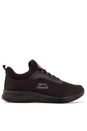 Slazenger ZAMORA Sneaker Kadın Ayakkabı Siyah / Siyah SA11RK014