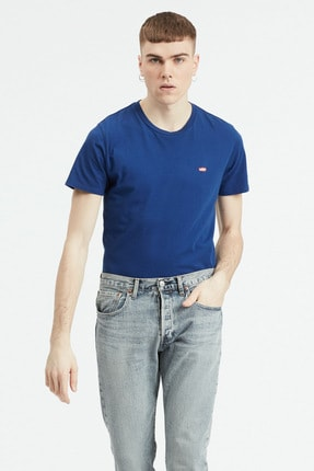 Levi's Erkek Mavi Ss Classic Hm Tee Tişört