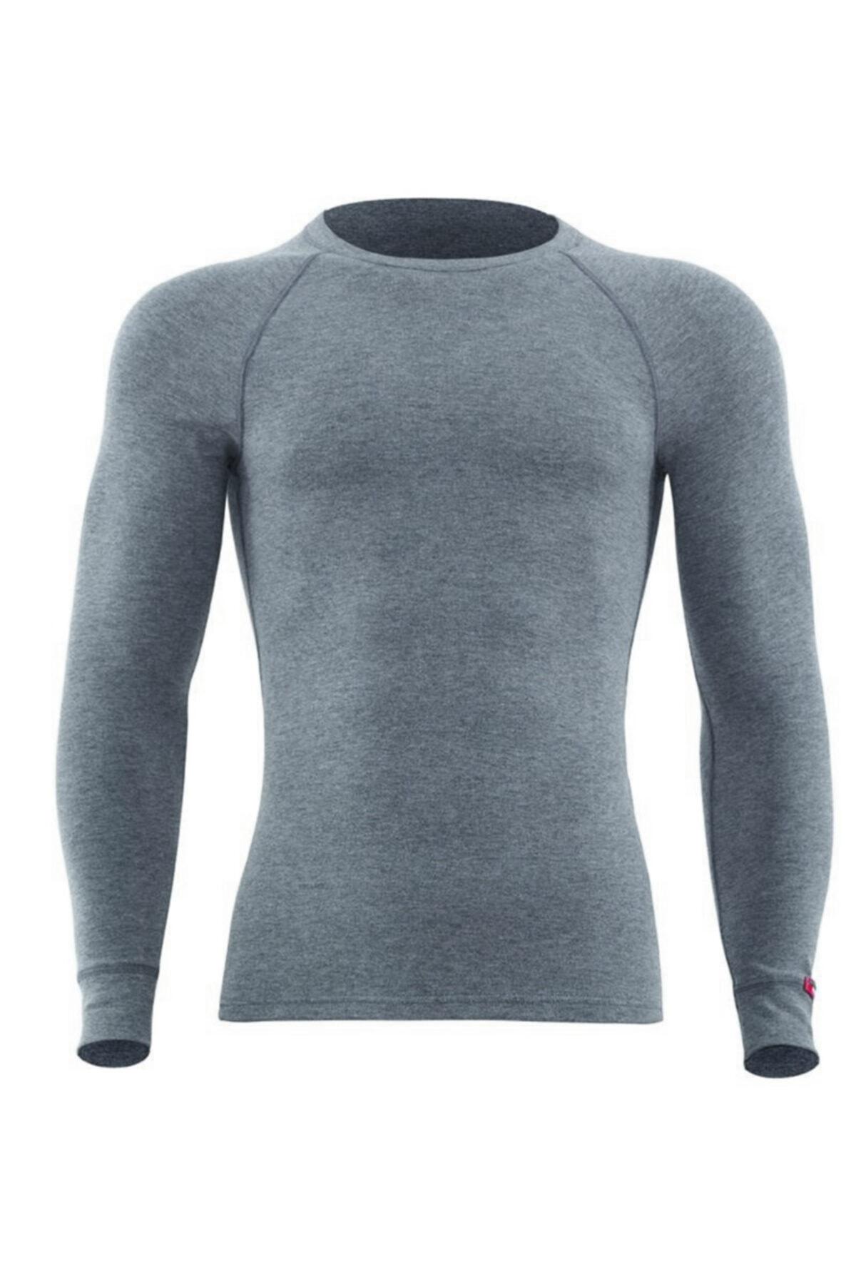 Blackspade Erkek Termal Tişört 2. Seviye 9259 - Gri Melanj 1