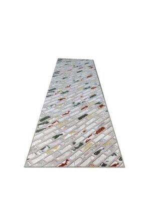 Merinos Aksu Messina Yeşil Kaymaz Taban Yıkanabilir Kesme Yolluk 120 x 240 cm