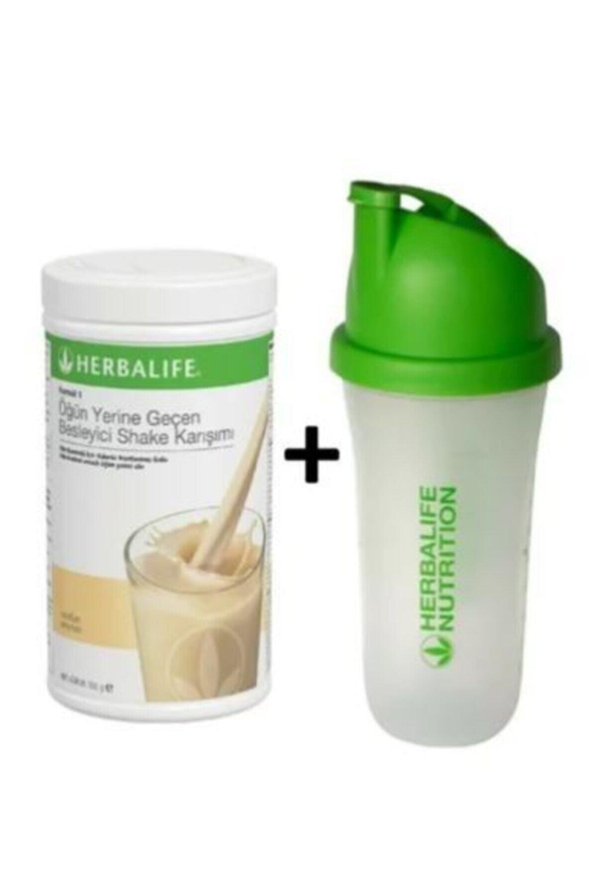 Herbalife Vanilya Shake 550g + Shaker Hediyeli 1