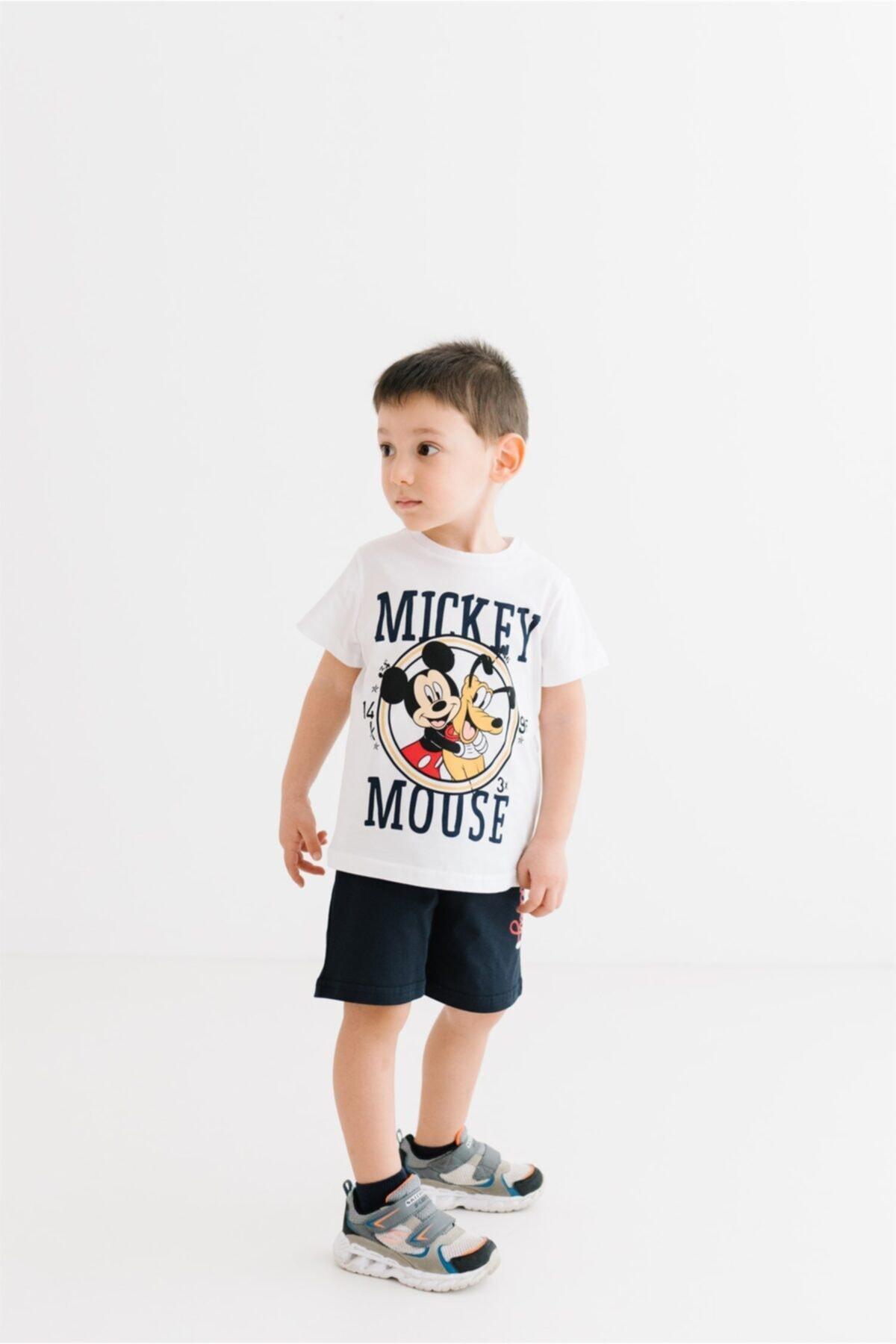 Mickey Mouse Lisanslı Çocuk Takım 18070 1