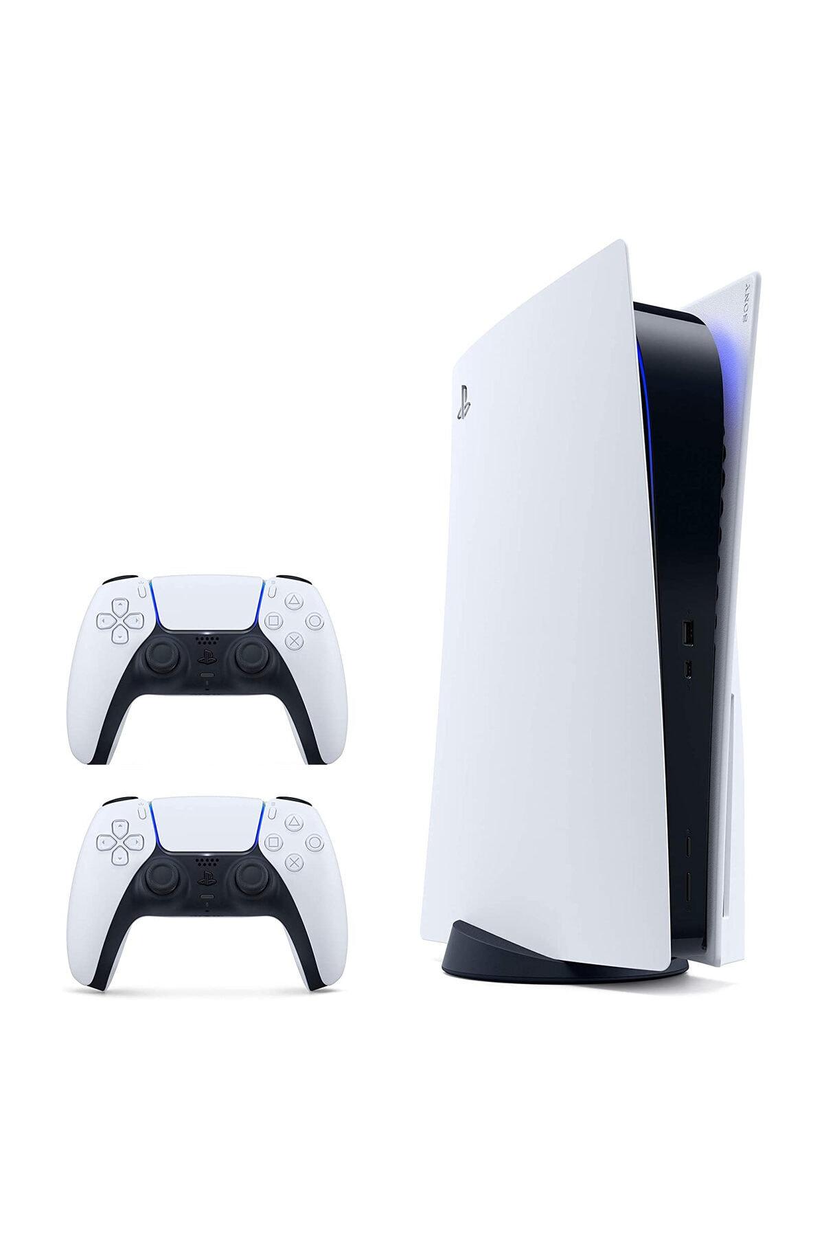 Sony Playstation 5 825 GB - Türkçe Menü + 2. PS5 DualSense (Eurasia Garantili) 2