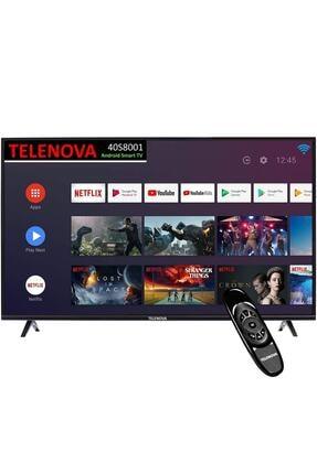 """TELENOVA 40S8001/20 40"""" (101 Ekran) Dahili Uydu Alıcılı Android Smart TV"""