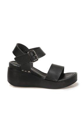 Butigo 20S-528C1FX Siyah Kadın Dolgu Topuklu Sandalet 101029649